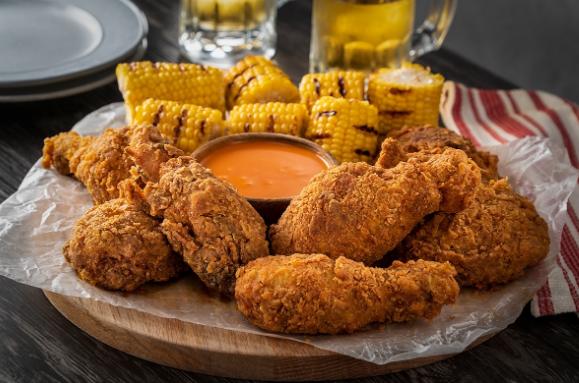 Receta de pollo frito estilo cajún