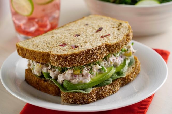 Receta de sándwich de atún cremoso