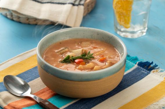 Receta fácil de sopa de pescado